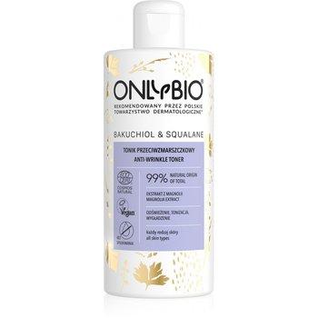 OnlyBio, Bakuchiol & Squalane, tonik przeciwzmarszczkowy do twarzy, 300 ml-ONLYBIO