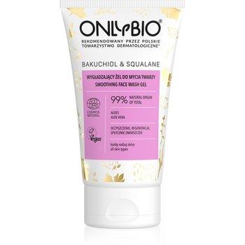 OnlyBio, Bakuchiol & Squalane wygładzający żel do mycia twarzy 150ml-ONLYBIO