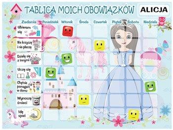Oobrazy, tablica motywacyjna Mała księżniczka, 40x30 cm-Oobrazy