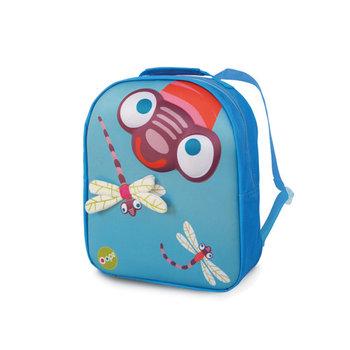 Oops, plecak przedszkolny 3D, Ważka, błękitny-Oops