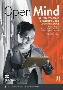 Open Mind B1. Pre-Intermediate. Student's Book + kod online-Rogers Mickey, Taylore-Knowles Joanne, Taylore-Knowles Steve