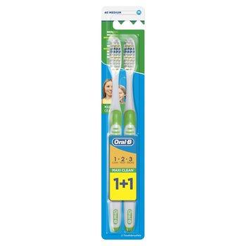 Oral-B, Maxi Clean, szczoteczka do zębów średnia, 2 szt.-Oral-B