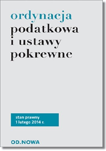 ORDYNACJA PODATKOWA PDF DOWNLOAD