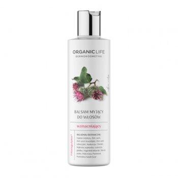 Organic Life, balsam myjący do włosów wzmacniający, 250 g-Organic Life