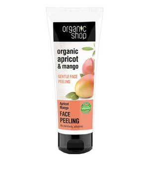 Organic Shop, delikatny peeling do twarzy Morela i Mango, 75 ml - Organic Shop