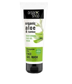 Organic Shop, maska do twarzy żelowa Aloes i Bambus, 75 ml - Organic Shop