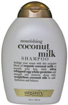 Organix, Nourishing Coconut, szampon odżywczy z mleczkiem kokosowym, 385 ml-Organix