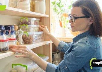 Organizacja przechowywania w kuchni – przechowywanie w spiżarni, szafkach i szufladach