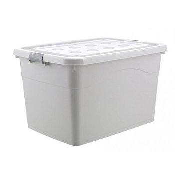 Organizer na akcesoria lub zabawki z pokrywą na kółkach 80L OR73WZ2-eCarla