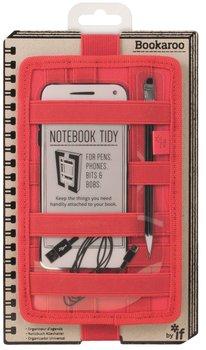 Organizer na notes, Bookaroo Notebook tidy, czerwony-IF
