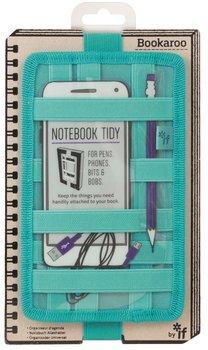 Organizer na notes, Bookaroo Notebook tidy, turkusowy-IF