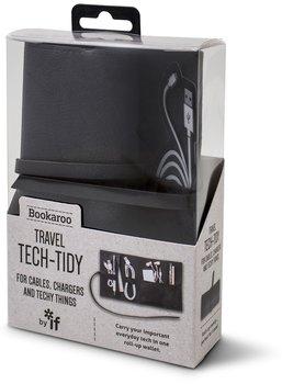 Organizer podróżny, Bookaroo Travel tech-tidy, czarny-IF