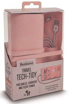 Organizer podróżny, Bookaroo Travel tech-tidy, różowy-IF