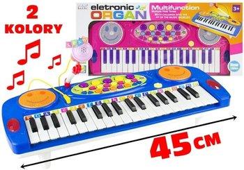 Organy keyboard + mikrofon-Lean Toys