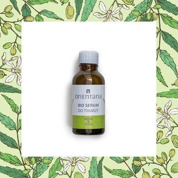 Orientana, bio serum do twarzy neem&tulsi, 30 ml-Orientana