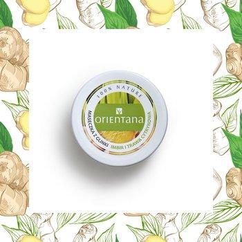 Orientana, maseczka z glinki imbir i trawa cytrynowa, 50 g-Orientana