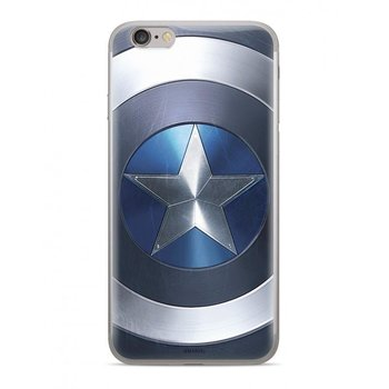 Oryginalne etui Marvel z nadrukiem Kapitan Ameryka 005 do Huawei Mate 20 Pro niebieski (MPCCAPAM1659)-Marvel