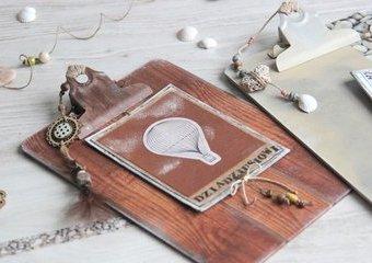 Oryginalne ramki z podkładek - zrób prezent dla babci i dziadka.