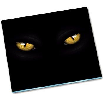 Osłona kuchenna deska szklana Kocie oczy - 60x52 cm-Tulup