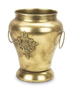 Osłonka Antyczna Amfora Na Kwiaty Złota 20x18x18-Pigmejka