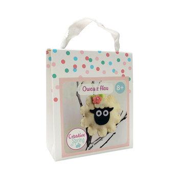 Owca z filcu-Creative Spring