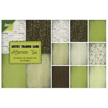 Ozdobny papier Afternoon Tea 85x60mm/36szt.-Joy! Crafts