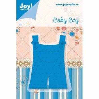 Ozdobny wykrojnik Baby Boy - ogrodniczki-Joy! Crafts