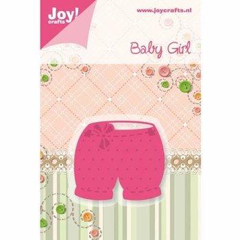 Ozdobny wykrojnik Baby Girl - spodenki-Joy! Crafts