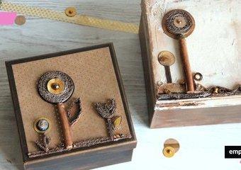 Ozdoby z tektury falistej – pomysł na eleganckie pudełka