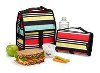 PackIt, Składana lodówka termiczna Lunch Bag 4,4l, Stripe