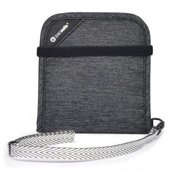 Pacsafe, Portfel antykradzieżowy, RFIDsafe V100 bifold wallet, grafitowy-Pacsafe