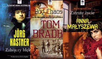 Pakiet Kryminał z odciskiem 1: Zabójczy błękit / Bóg chaosu / Zatrute życie-Bradby Tom, Kastner Joerg, Małyszewa Anna