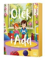 Pakiet: Olek i Ada wśród przyjaciół. Trzylatek. Poziom A-Cieśla Marzanna