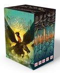 Pakiet: Percy Jackson i bogowie. Tom 1-5-Riordan Rick
