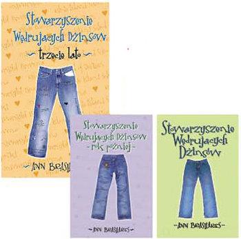 Pakiet: Stowarzyszenie Wędrujących Dżinsów-Brashares Ann