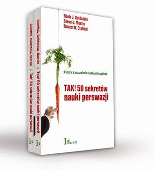 Pakiet: Tak! 50 sekretów nauki perswazji-Cialdini Robert B., Goldstein Noah J., Martin Steve J.