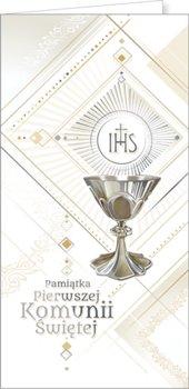Pamiątka komunii DL 02-AB Card