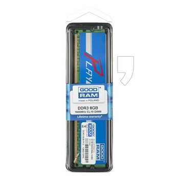 Pamięć DDR3 GOODRAM PLAY 8GB/1600MHz 10-10-10-28 BLUE-GoodRam