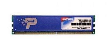 Pamięć DIMM DDR2 PATRIOT PSD22G80026H, 2 GB, 800 MHz, CL6-Patriot Memory
