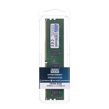 Pamięć DIMM DDR4 GOODRAM GR2666D464L19S/8G, 8 GB, 2666 MHz, CL19-GoodRam