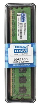 Pamięć DIMM GOODRAM 8 GB, DDR3, 1333, CL9 - GoodRam