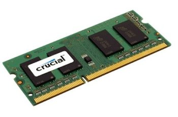 Pamięć SODIMM DDR3 CRUCIAL Voltage, 16 GB, 1600 MHz, 11 CL-Crucial