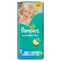 Pampers, Active Baby-Dry, Pieluszki jednorazowe, rozmiar 5, Junior, 50 szt.