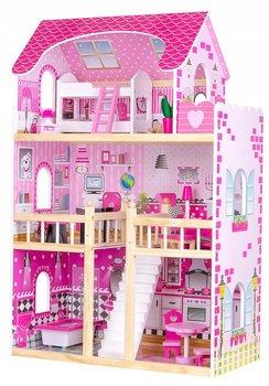 Pan Patyk, drewniany domek dla lalek z meblami-Pan Patyk