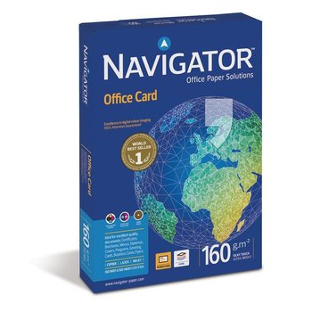 Papier do drukarki IGEPA Premium Navigator Office Card, A4, 160 g/m2, 250 arkuszy-Igepa