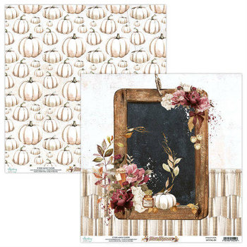 Papier do scrapbookingu, Fall Festival 04, 30x30 cm - Mintay Papers