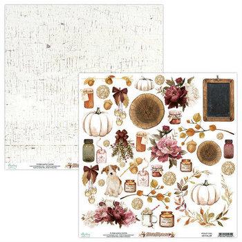 Papier do scrapbookingu, Fall Festival 09, 30x30 cm-Mintay Papers