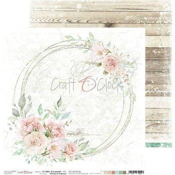 Papier do scrapbookingu, Hello Beauty 06, 30x30 cm-Craft O'Clock