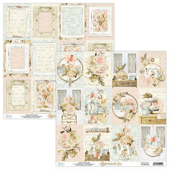 Papier do scrapbookingu, Homemade 06, 30x30 cm-Mintay Papers
