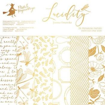 Papier do scrapbookingu Lucidity 15,3x15,3 cm - zestaw-Piątek Trzynastego - P13